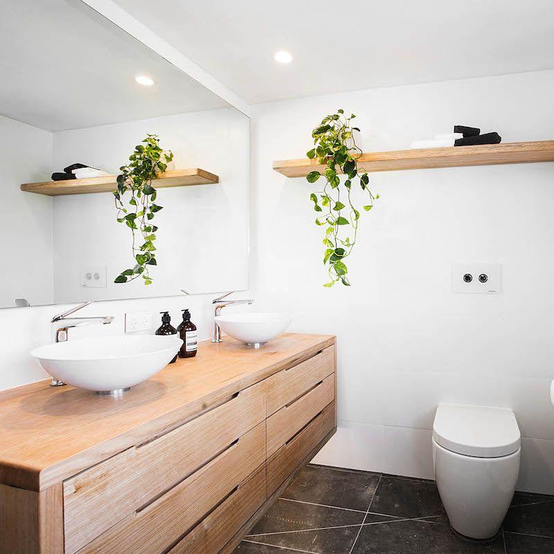 Andy and whitney room 1 bathroom theblock theblockshop for Cuartos de bano famosos