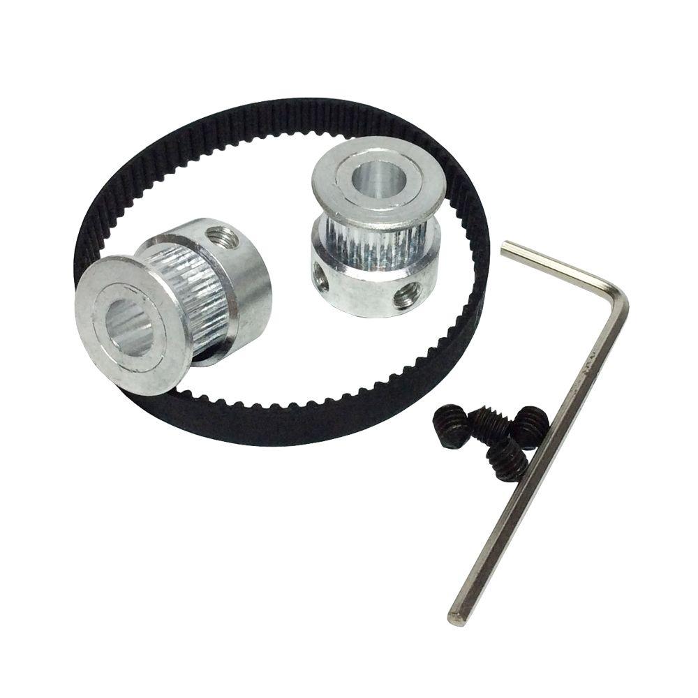 3d printer parts htd 2gt timing belt length 188mm round