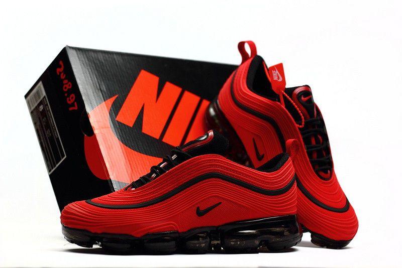 NIKE AIR MAX 97 Plus tn Black, red and orange Uk 11 Mens