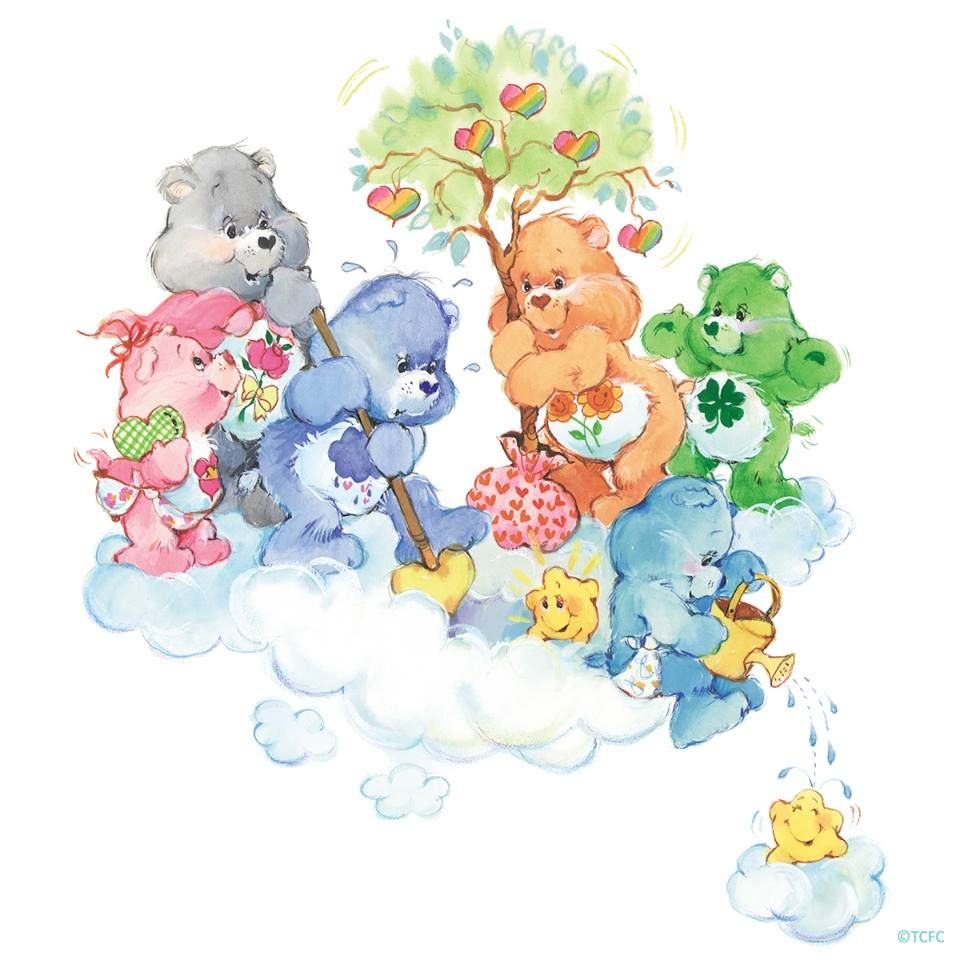 Pin By Ramonaq On Vintage Care Bears Care Bear Party
