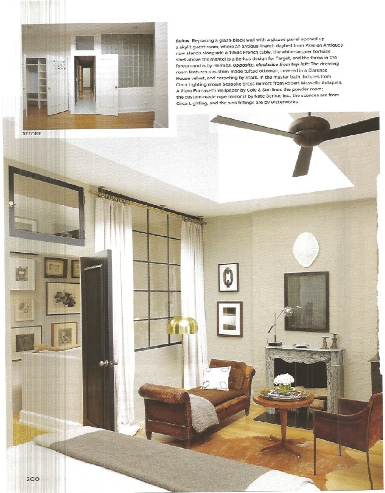 Another fan for a modern or contemporary room