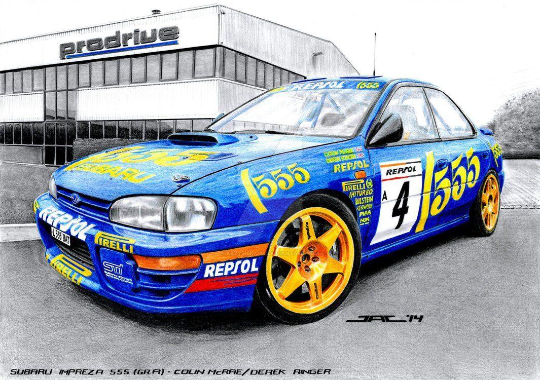Subaru Impreza 555 Gr A By Krzysiek Jac Subaru Impreza Subaru Rally