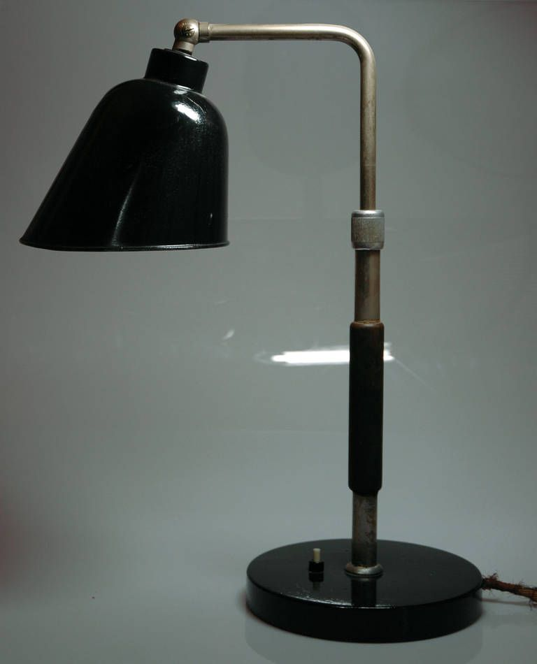 Goethe Lamp Designed By Christian Dell Circa 1928 For Bunte Remmler This One Made In 1930s Dell Was From 1922 To 1925 Lamp Lamp Design Vintage Table Lamp