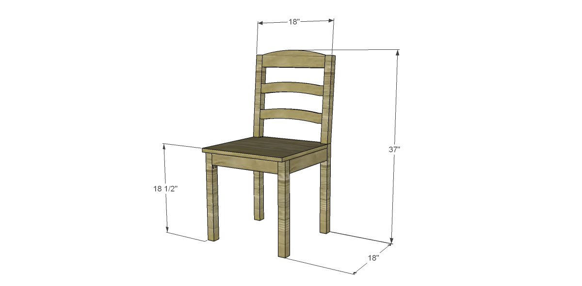 Free Plans To Build A Dining Chair 1 Over The Next Couple