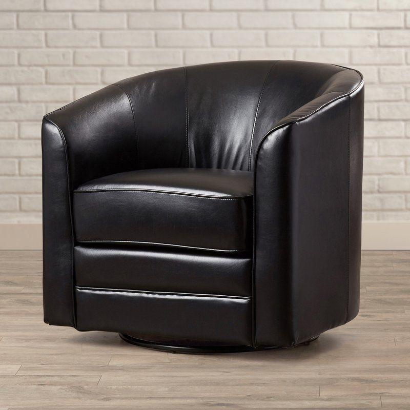 Morefield Swivel Barrel Chair | Swivel barrel chair ...