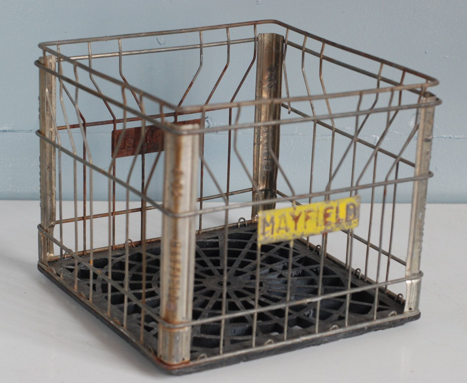 Vintage Mayfield Milk Crate. $29.50, via Etsy.