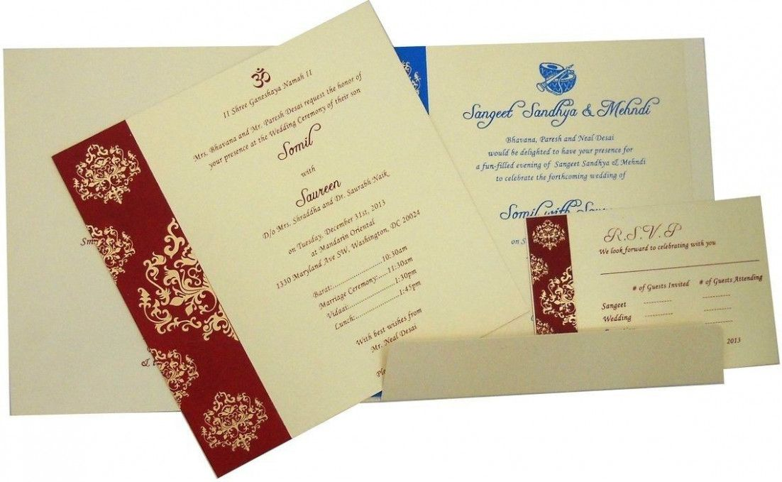 wedding card dengan gambar