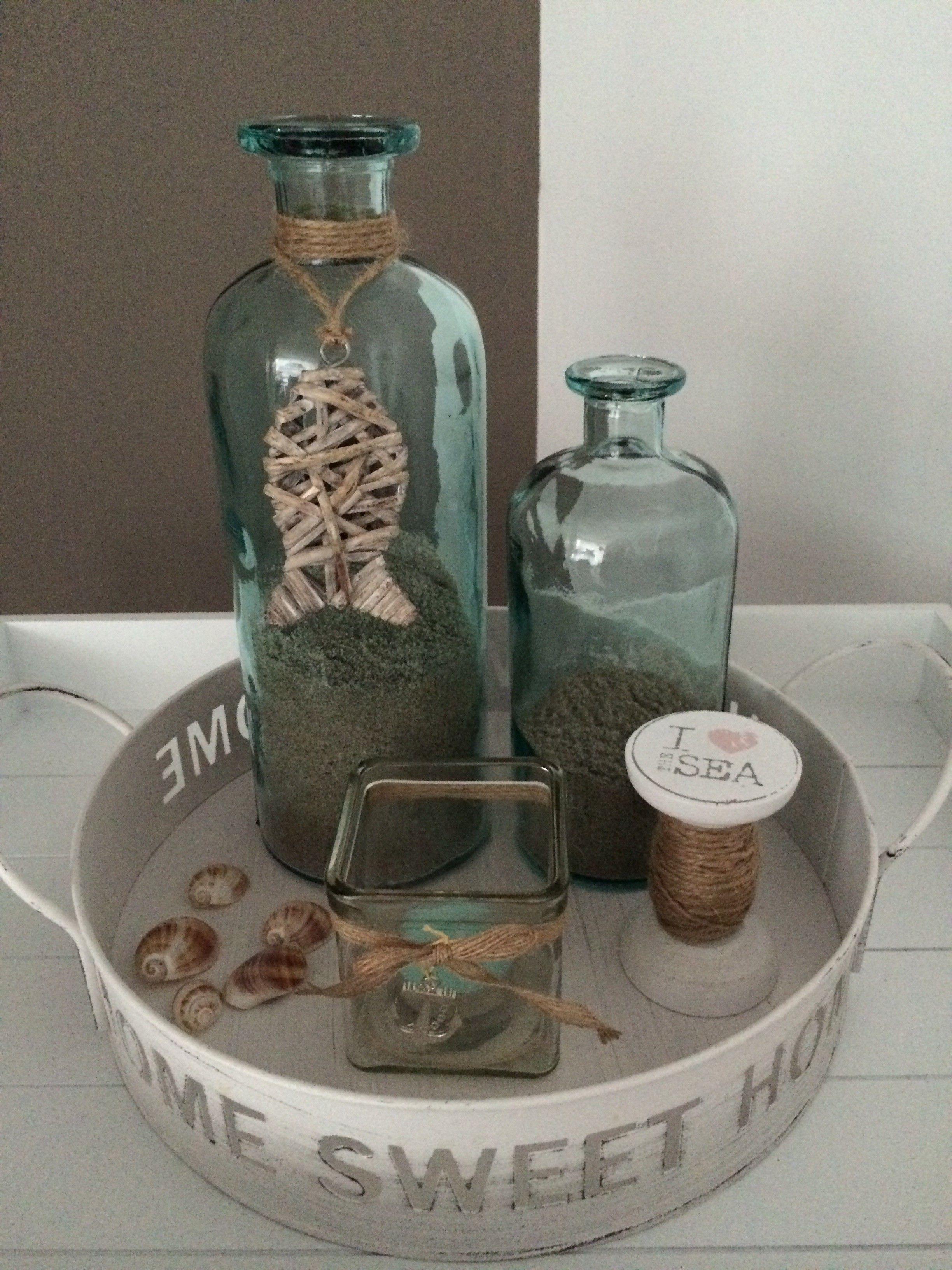 beachstyle schaal via action en xenos | diy crafts and more, Badezimmer ideen