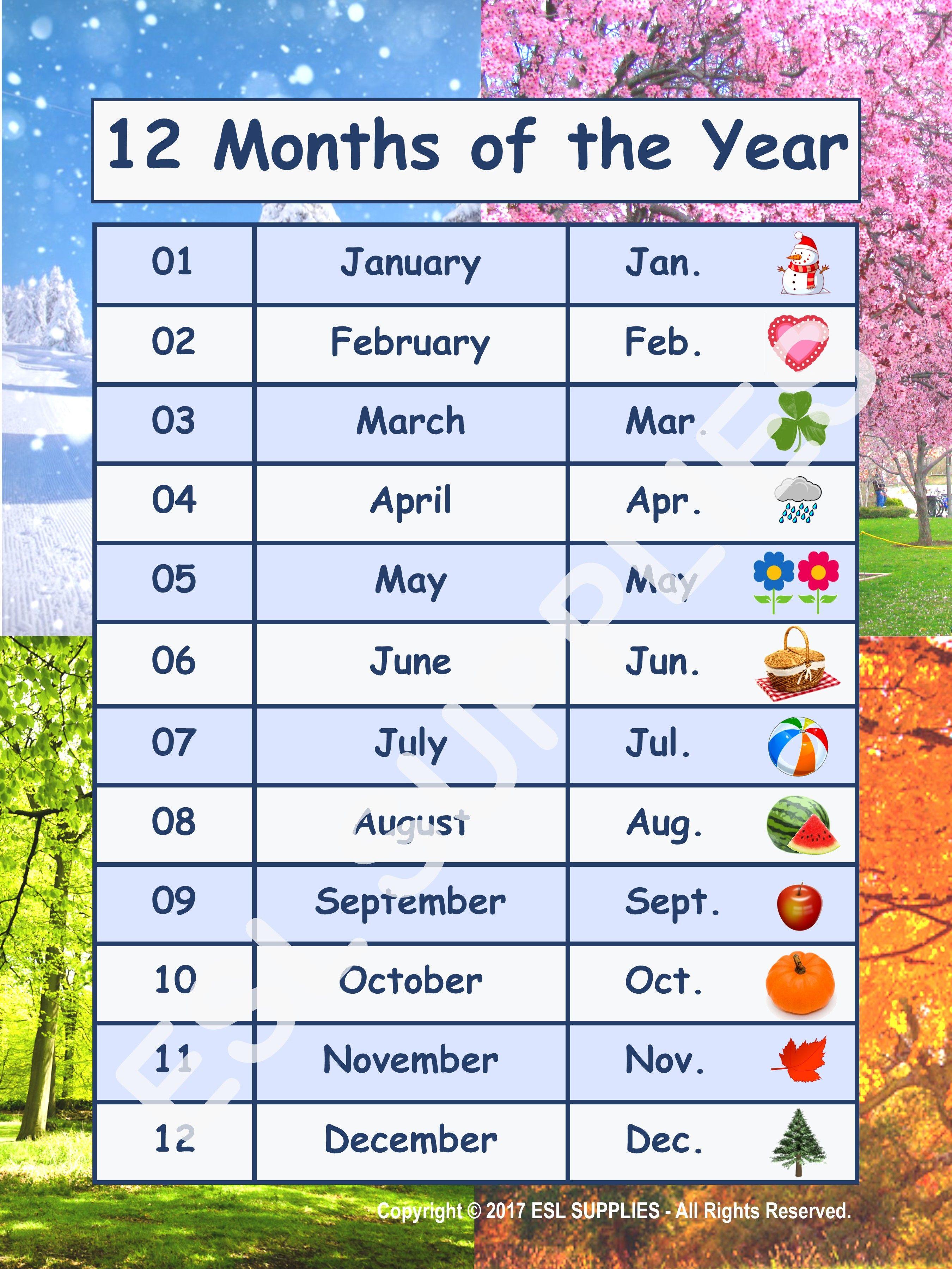 Weather Amp Seasons Printable Cards Earthsunseasons