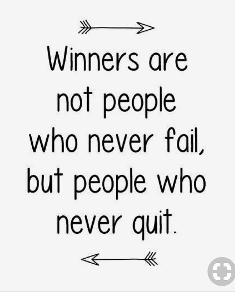 Failing Is Part Of The Journey Fall Down 7 Times Stand Up 8 Make The Decision Today That You Will Never Ever Give Up No Mat Giving Up Quotes Up Quotes Quotes