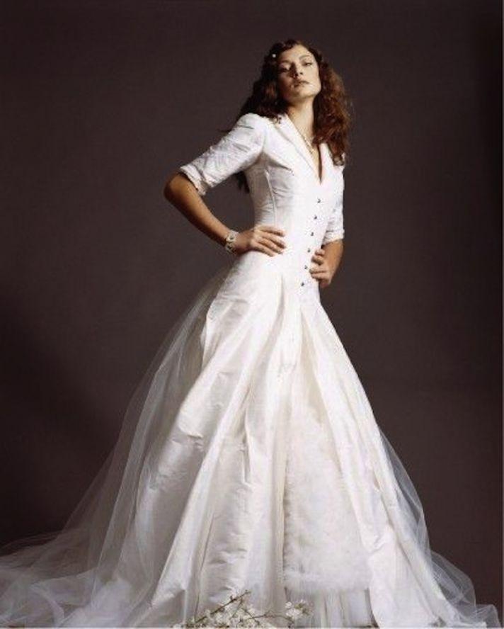 The Shirtwaist Wedding Dress