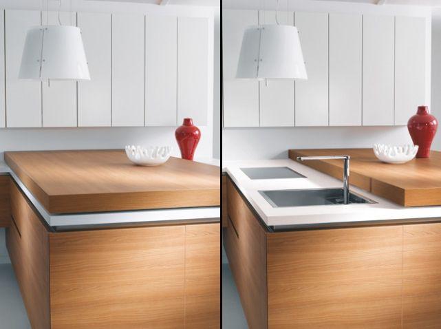 une cuisine cach e dans un placard elle d coration cuisine cach e cacher et placard. Black Bedroom Furniture Sets. Home Design Ideas