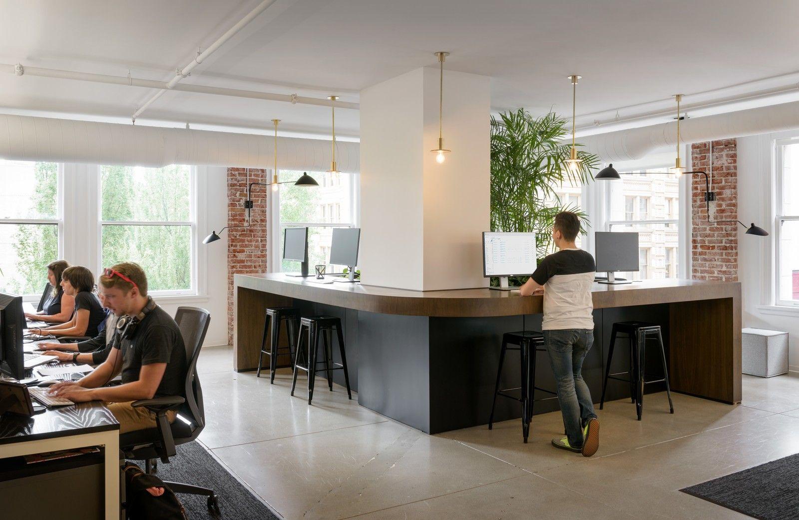 Step inside squarespaceus minimalist portland office portland
