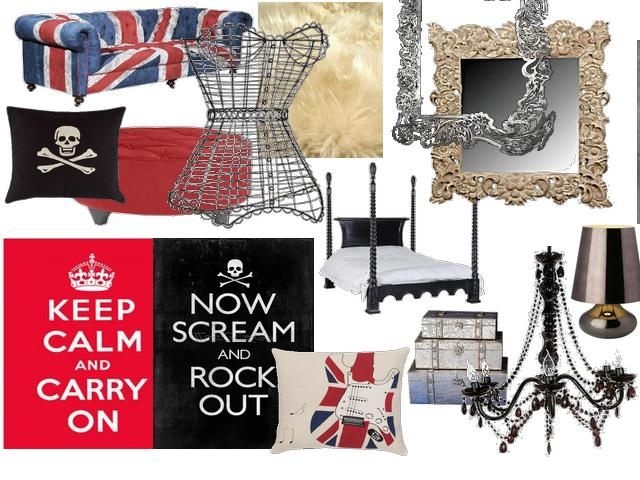 also rock   roll retro dom room pinterest bedrooms and rh