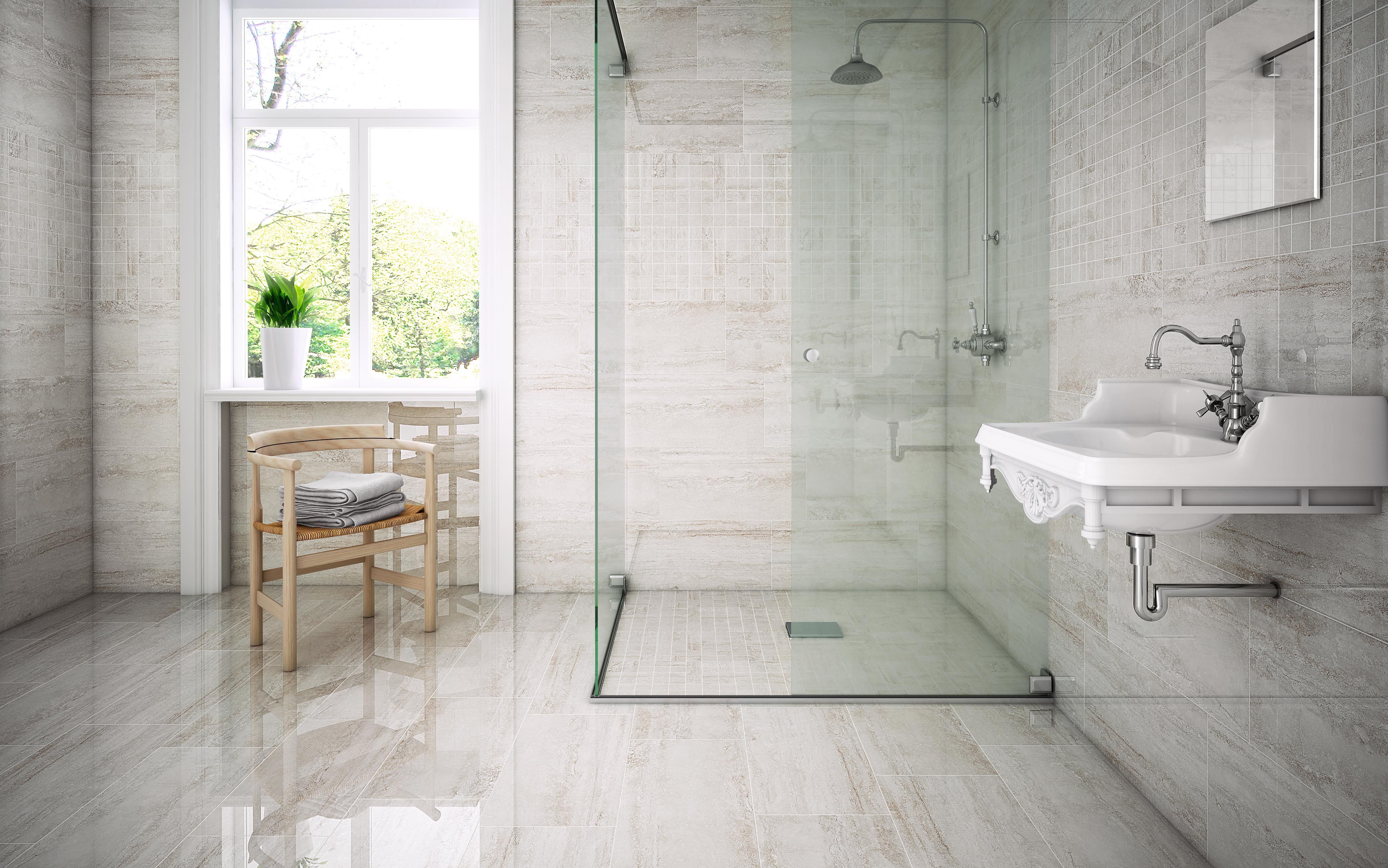 Stn ceramica from tile of spain recently introduced eterna for Bathroom tiles spain