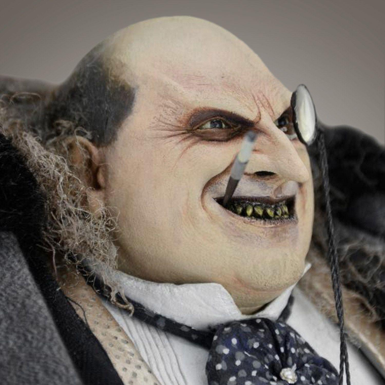 Penguin Danny Devito Tim Burton Signed 1 4 Scale Statue Tim Burton Danny Devito Danny Devito Penguin