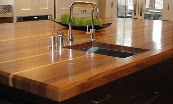 küchen arbeitsplatten holz teller idee | tank | pinterest, Kuchen