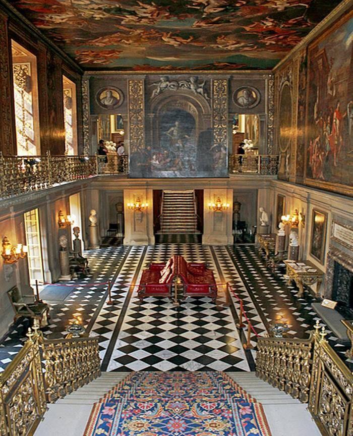 Chatsworth house castello nel derbyshire in inghilterra for Arredamento case di lusso interior design
