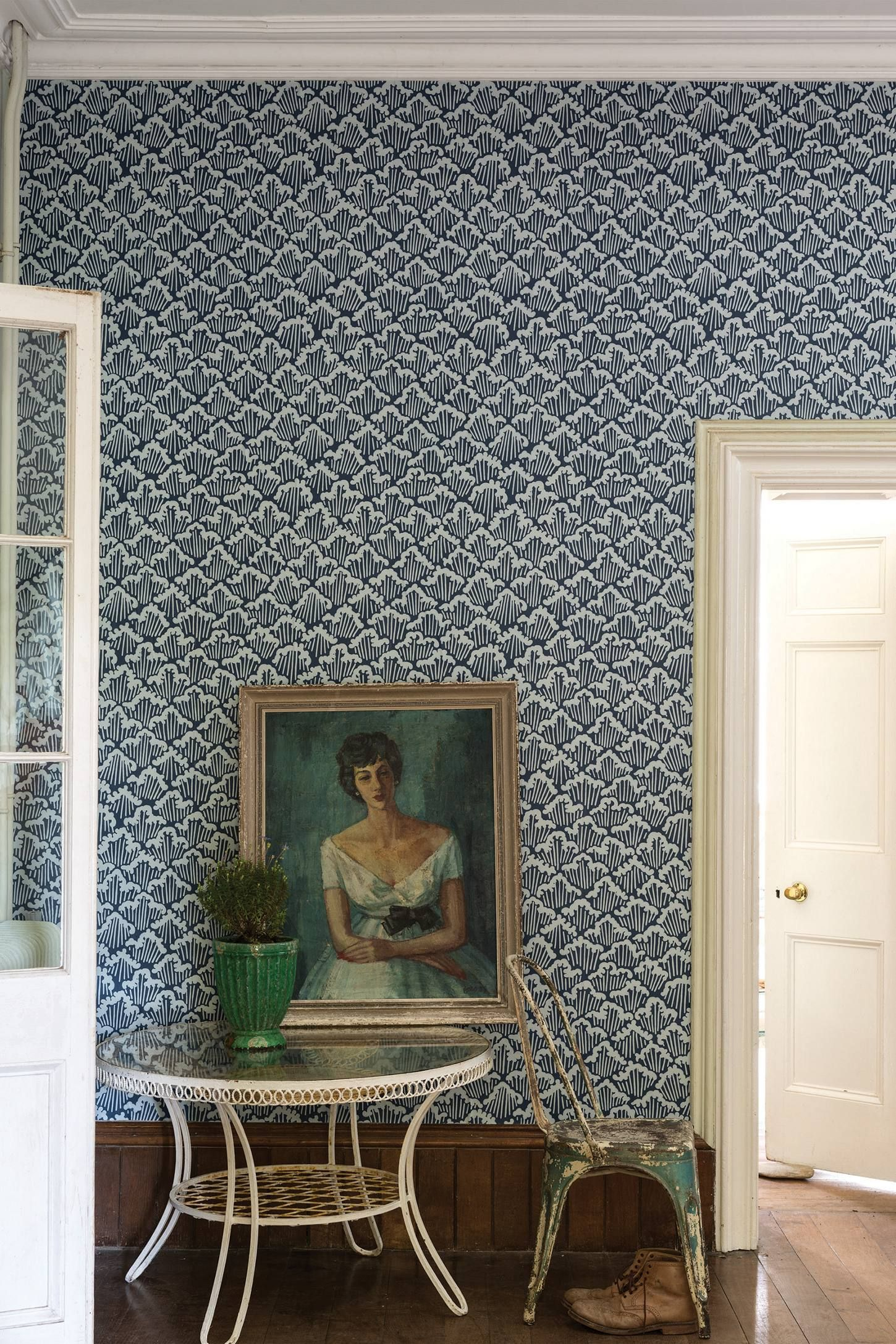 Farrow & Ball Aranami Wallpaper in 2019 Farrow, ball