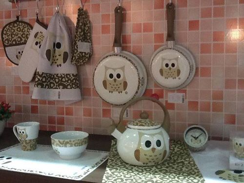 Owl Print Dinnerware Pinned By Owl