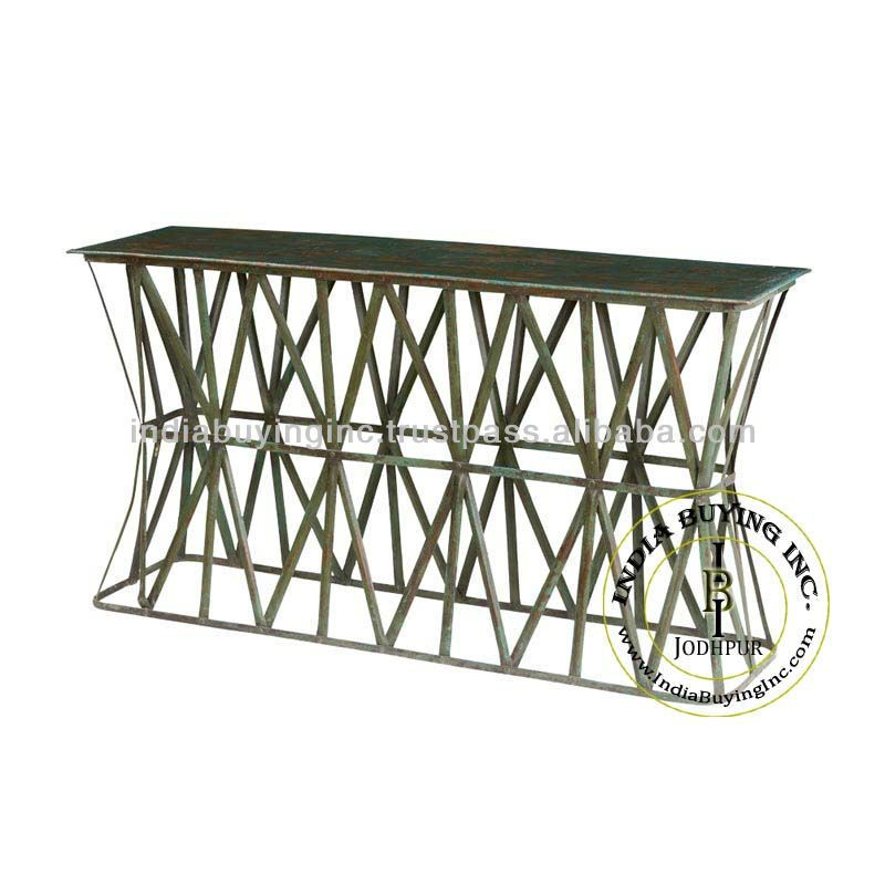 Industrial console table, View iron console table , India Buying Inc. Product Details from INDIA BUYING INC. on Alibaba.com