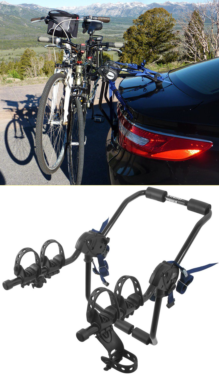 Thule Passage 2 Bike Carrier Trunk Mount