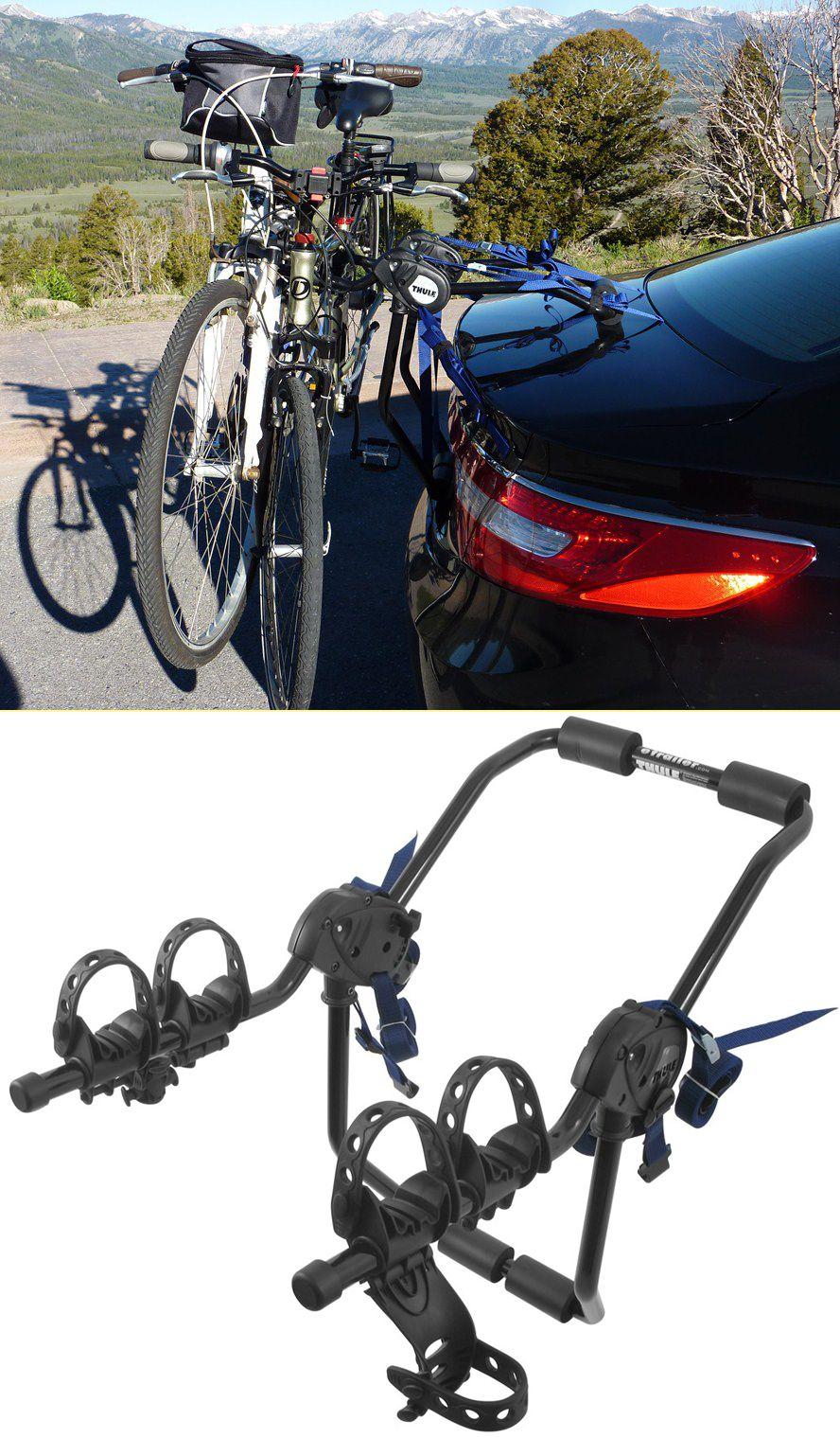 Thule Passage 2 Bike Carrier Trunk Mount Thule Trunk Bike Racks