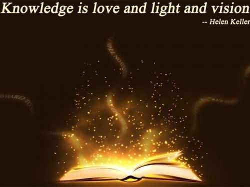 Preposition In Learn In Marathi All Complate: Knowledge Is Love And Light And Vision. Helen Keller