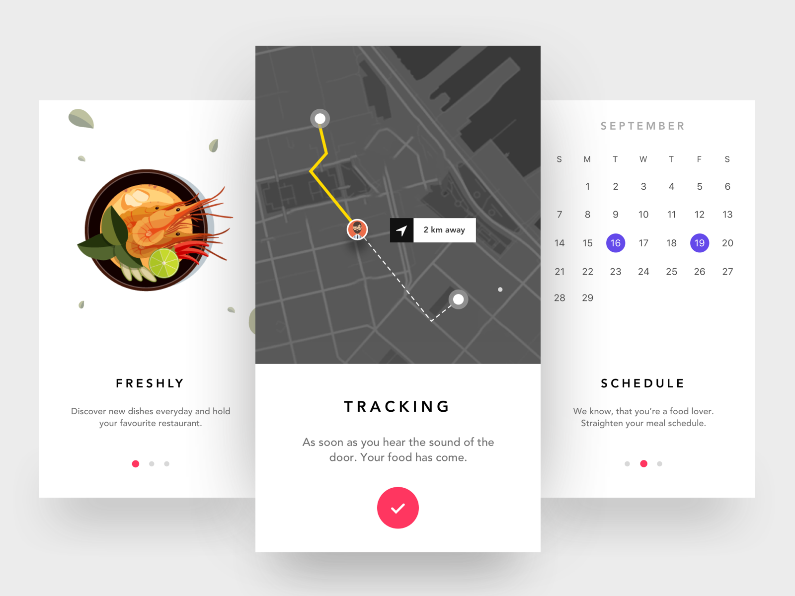 Food iOS App - Sketch file premium - Download now on Behance ...