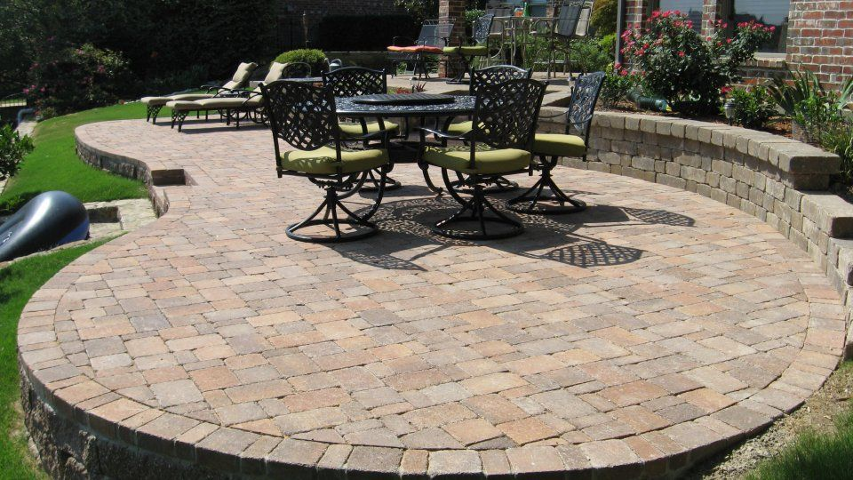 Brilliant Raised Patio Pavers Patiooutdoor Bar Ideas You Must Try At Your Backyard To Design