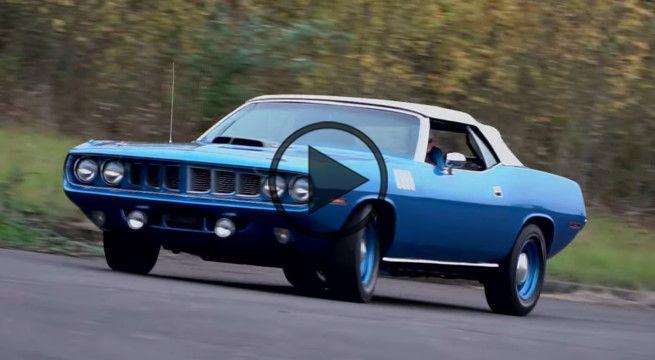 1971 Plymouth Hemi Cuda Convertible 4-Speed - https://www.musclecarfan.com/1971-plymouth-hemi-cuda-convertible-4-speed/
