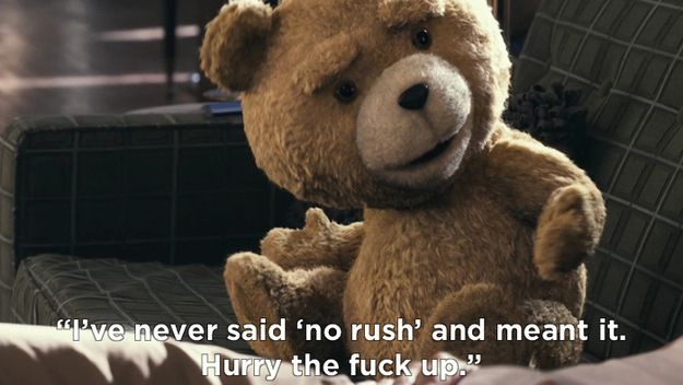 Not see teddy suck funny bear you brilliant idea