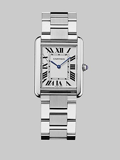 479296b2759 Tank Solo Stainless Steel Bracelet Watch Cartier Tank Solo