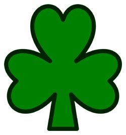 The Shamrock Is A Three Leafed Clover That Grows Abundantly In