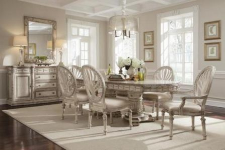 Classic : 901906 : Carlington Grounds Double Pedestal Dining Table : Decorium  Furniture Store Toronto
