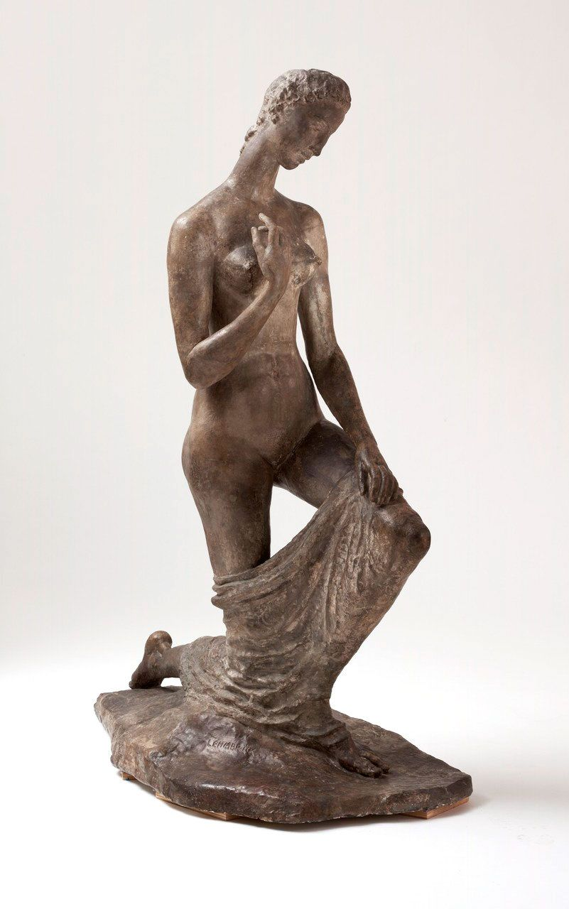 Wilhelm Lehmbruck Kneeling Woman 1911 Entartete Kunst