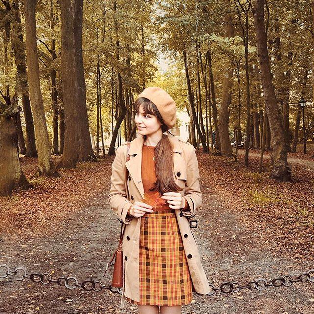 "Joanna🍂 on Instagram: ""What's your signature piece of clothing? Tartan skirts are mine for sure🍁 • #doortomywonderland #quietinthewild #polskadziewczyna…"""