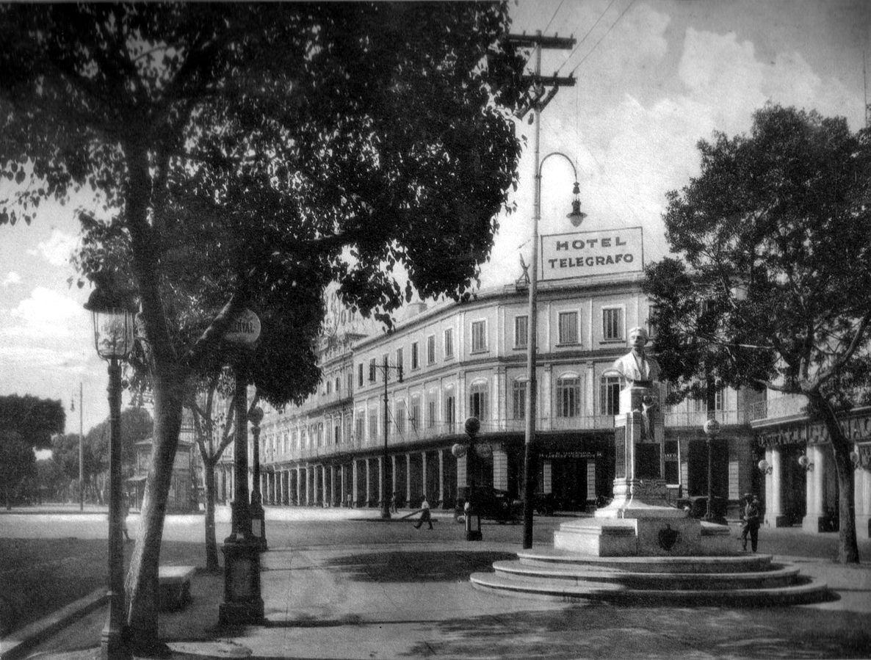 1925 Hotel Telegrafo Cuba Bahia De La Habana La Habana