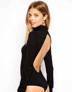 a3e6e60061f0 ASOS High Neck Backless Body - haven t worn one of these since high school