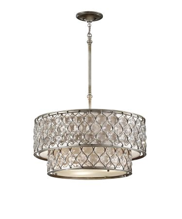Feiss Lucia 24 Inch Large Pendant By Generation Lighting