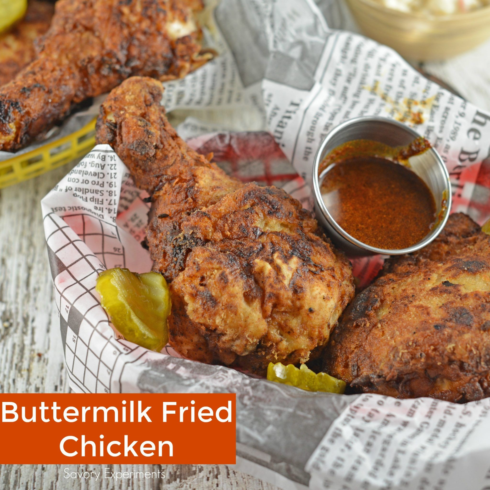 This Is The Best Buttermilk Fried Chicken Recipe Brined Chicken With Fresh Herbs Buttermil Buttermilk Fried Chicken Chicken Recipes Best Fried Chicken Recipe