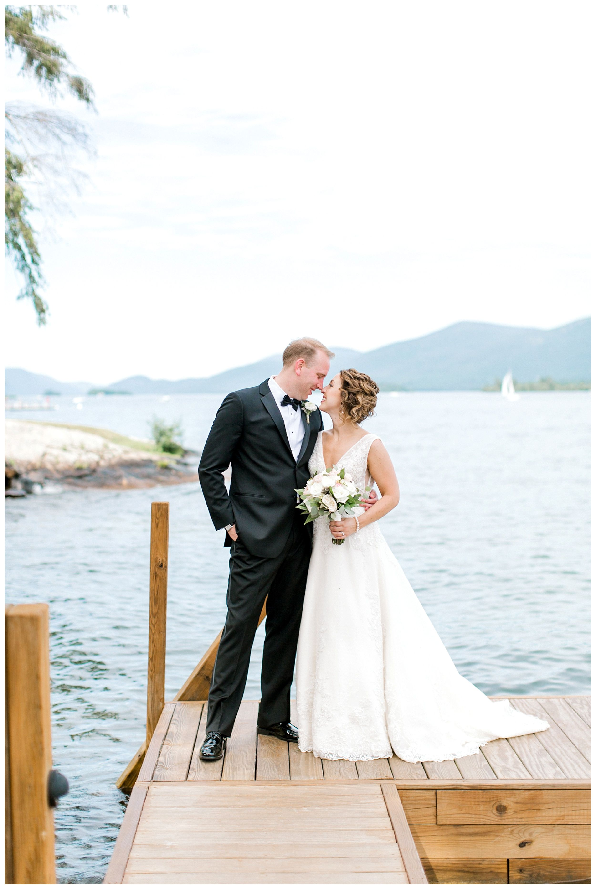 Inn at Erlowest Wedding New york wedding, Lake