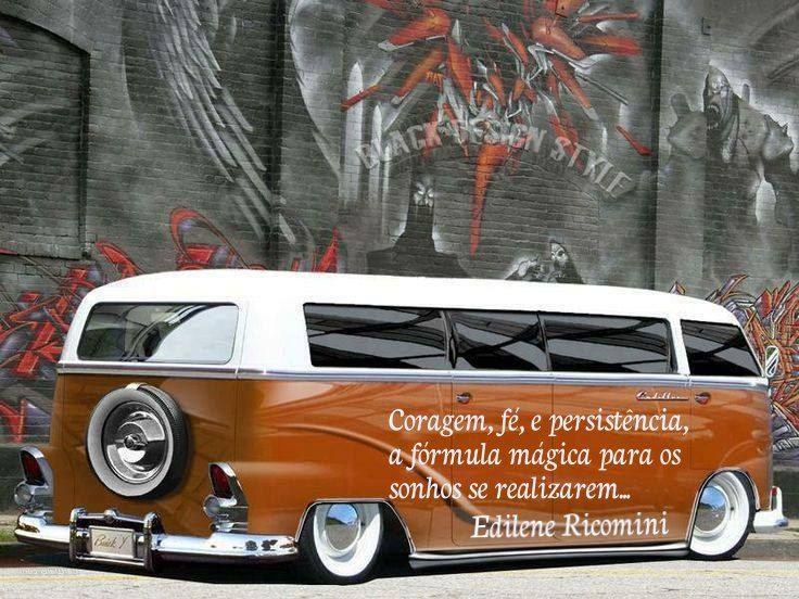Frase Personalizada Edilene Ricomini Con Imagenes Vw Combis