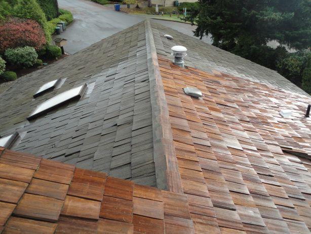 Best Cedar Shake Roof Stain Versus Seal Cedar Roof Cedar 640 x 480