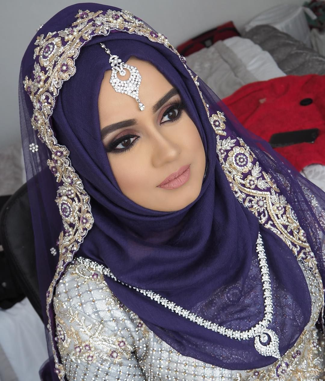 My Stunning Hijabi Bride On Her Walima Day No Trial