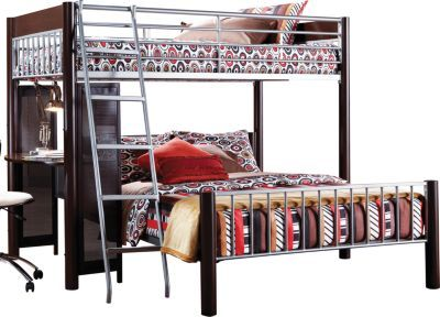 Best Shop For A Dorm Room Twin Full Loft Bed At Rooms To Go 400 x 300