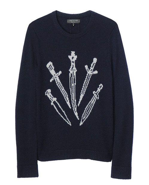 Dagger Sweater, classic rag & bone     via rag & bone, guest pinner for Land Rover USA