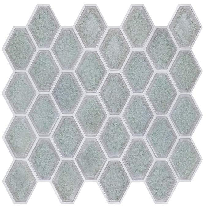 Amazon Com Vivid Tree Peel And Stick Backsplash Tile 12 X12 Adhesive Removable Self Adhe In 2020 Wall Stickers Tiles Self Adhesive Wall Tiles Wall Stickers Wallpaper