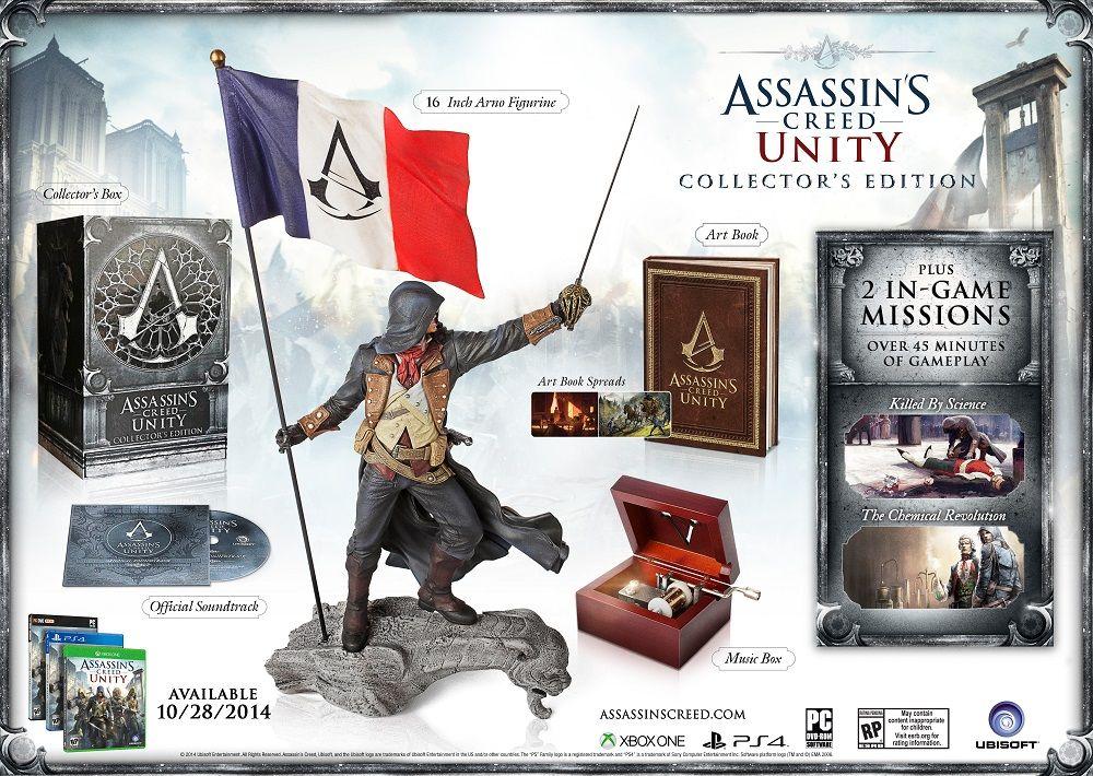 E3 2014 Assassin S Creed Unity Collector S Edition Arno