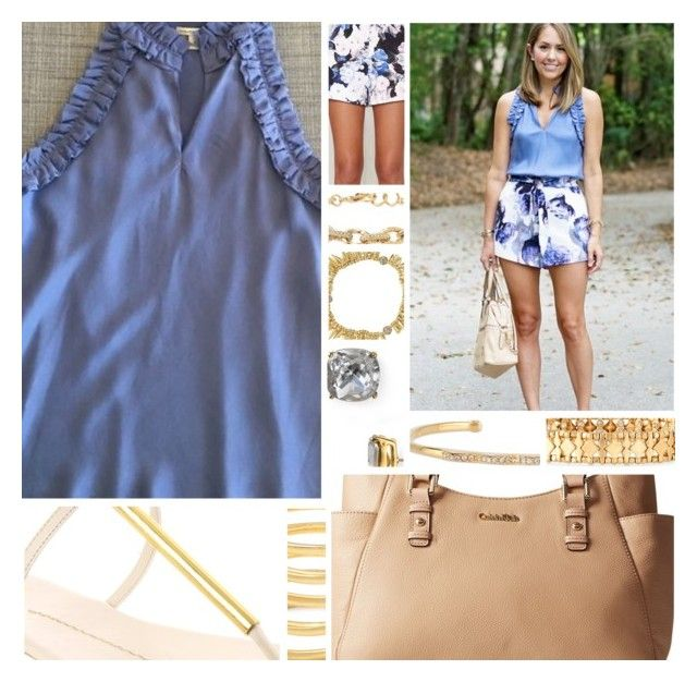 """""""Inspired By:: J's Everyday Fashion"""" by sbhackney ❤ liked on Polyvore featuring Banana Republic, Dolce Vita, Calvin Klein, Keepsake the Label, Stella & Dot and Kate Spade"""